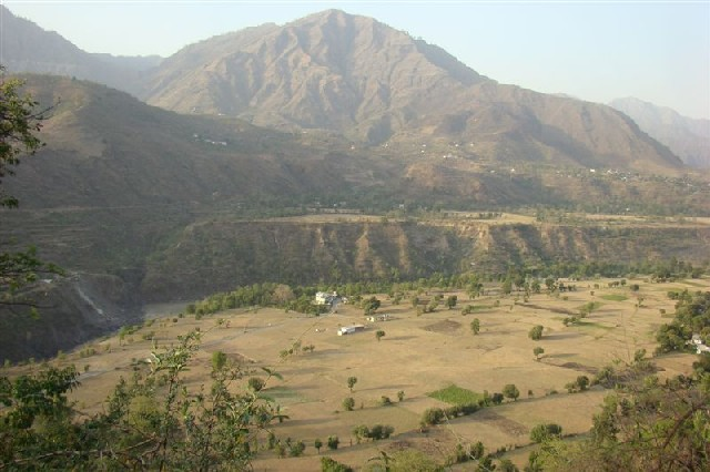 Agricultural fields of SHakrodi across Cement plant site