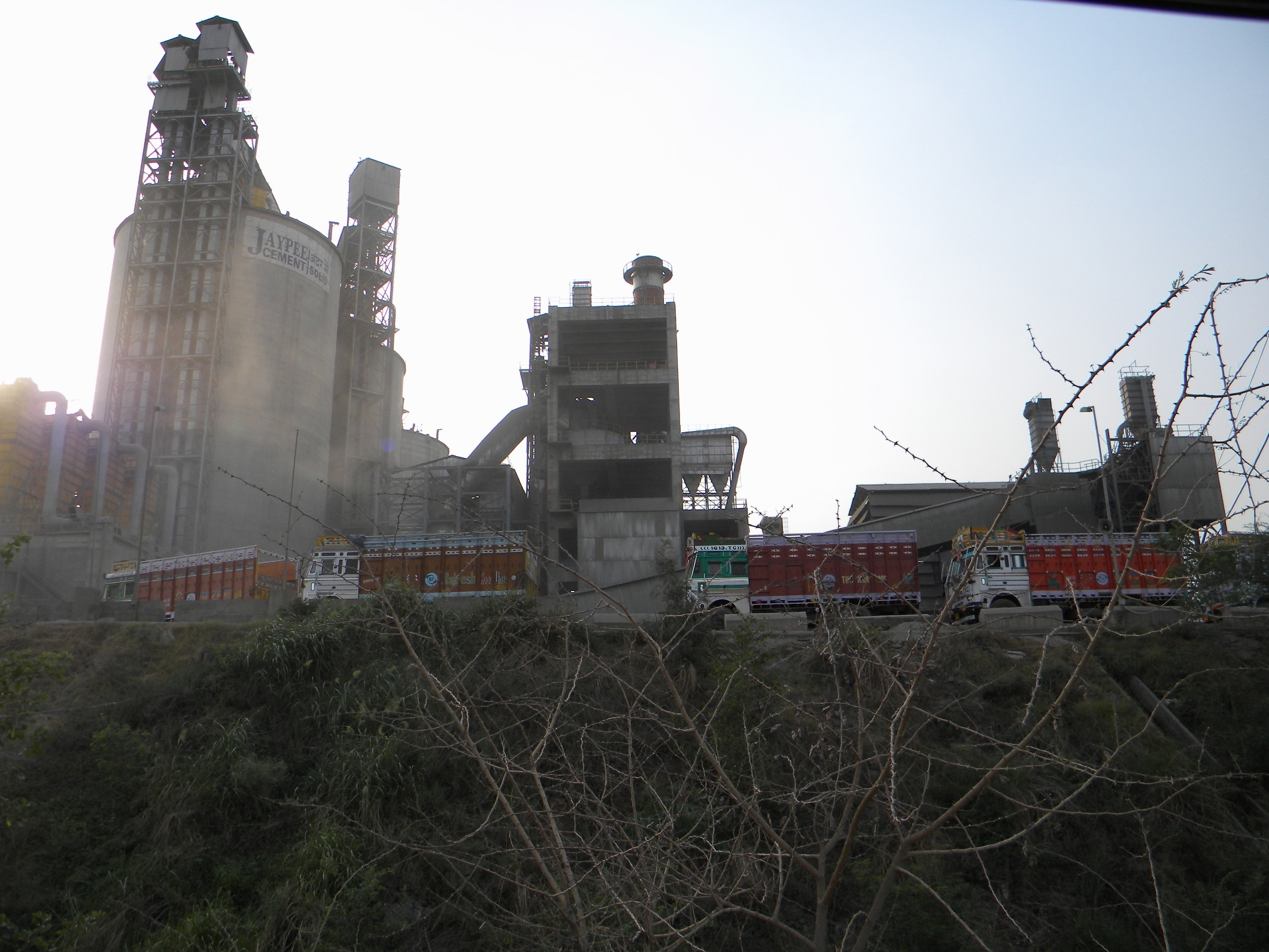Jaypee Cement Plant at Nalagarh