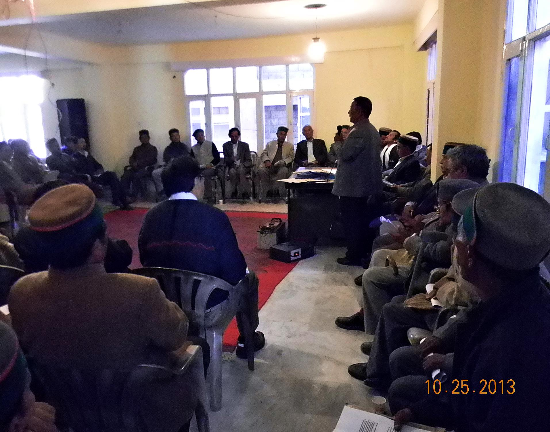 Meeting in Kinnaur