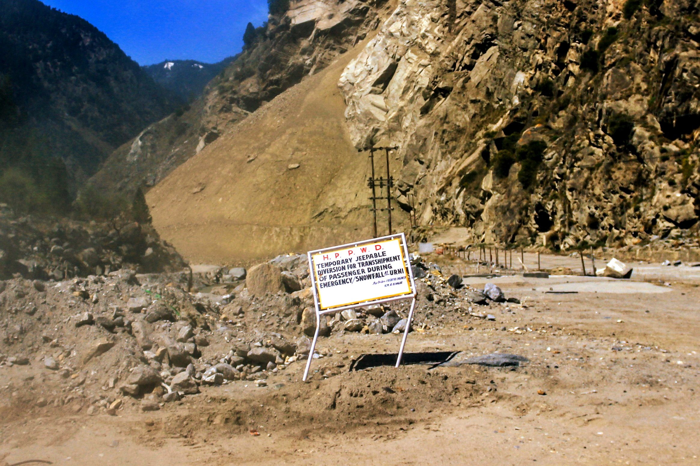 Environmentalists and residents say heavy construction and use of the drill and blast method of tunnelling has led to severe erosion and triggered the destabilization of slopes, especially in Kinnaur, Himachal Pradesh.
