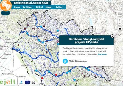 Mapping environmental conflicts in Himachal Pradesh