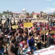 FRA protest